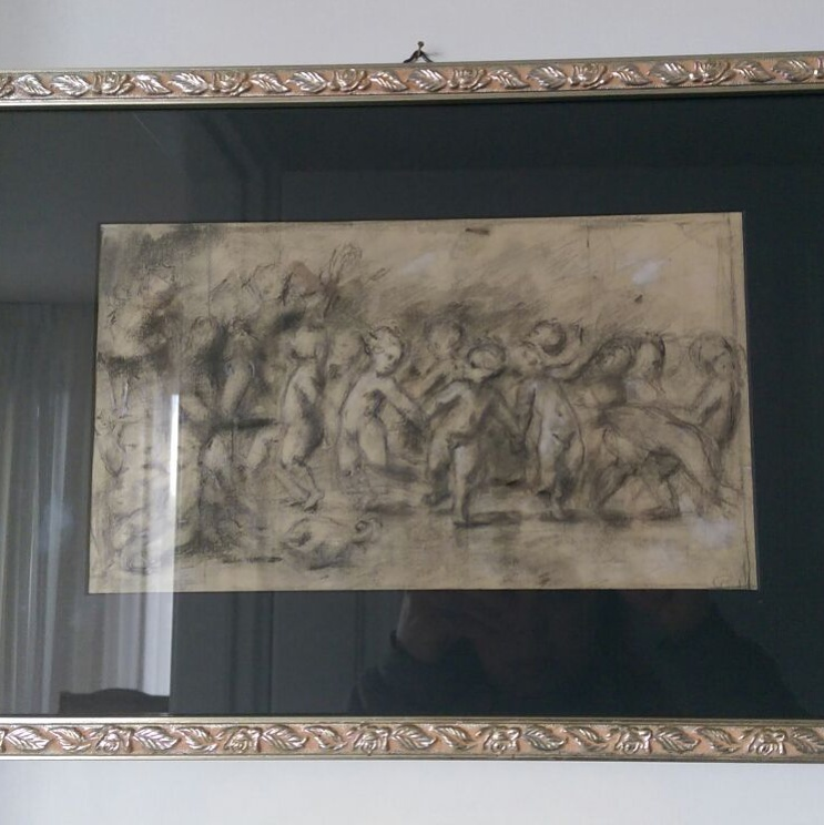 The interpretation of Pordenone's drawing was purchased by Mrs.Fausta Matteo,the lawyer in Potenza Italy