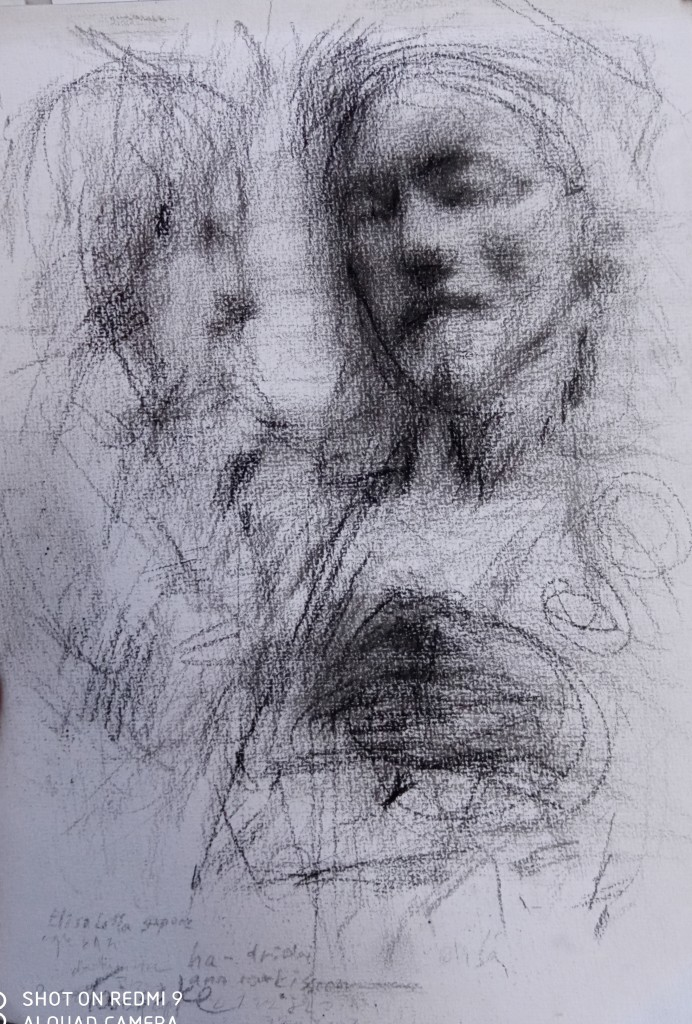 The new sketch/analysis of Verocchio's sculpture was purchased on 20th of July by the new German client